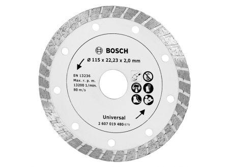 Bosch Diamanttrennscheibe Turbo 115mm Bauma bei handwerker-versand.de günstig kaufen