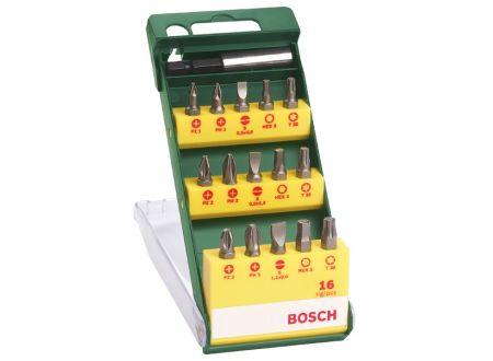 Bosch Bit Kassette mit Torx, 16-tlg.