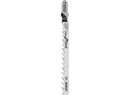 Bosch 100 Stichsägeblätter T 101 D