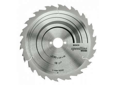 Bosch Kreissägeblatt 184x16 24FZ/WZ speedline SB2,4 bei handwerker-versand.de günstig kaufen