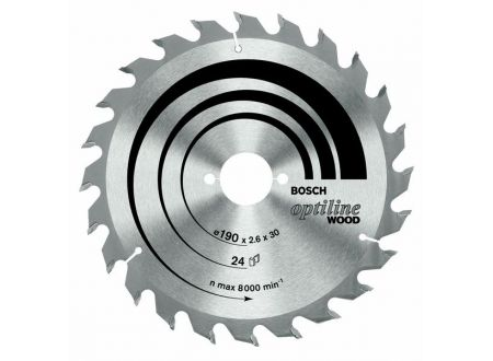 Bosch Kreissägeblatt 190x30 12wz optiline SB2,6 bei handwerker-versand.de günstig kaufen