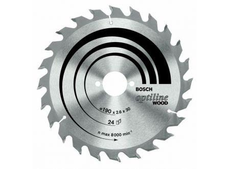 Bosch Kreissägeblatt 190x30 24wz optiline SB2,0 bei handwerker-versand.de günstig kaufen