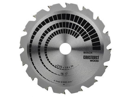 Bosch Kreissägeblatt 235x30/25 16FWF construct SB2,8