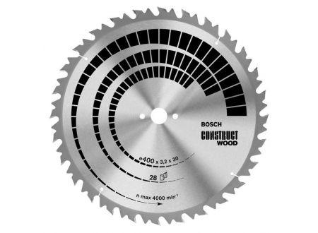 Bosch Kreissägeblatt 400x30 28FWF NL construct wood bei handwerker-versand.de günstig kaufen
