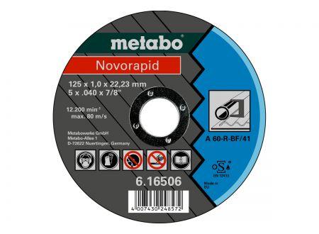 Metabo Trennscheiben Novorapid 125x1,0x22,23 Inox bei handwerker-versand.de günstig kaufen