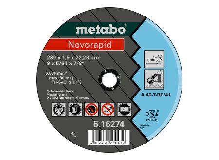 Metabo Trennscheiben Novorapid 230x1,9x22,23 Inox bei handwerker-versand.de günstig kaufen