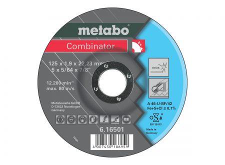 Metabo Combinator 115x1,9x22,23 Inox bei handwerker-versand.de günstig kaufen