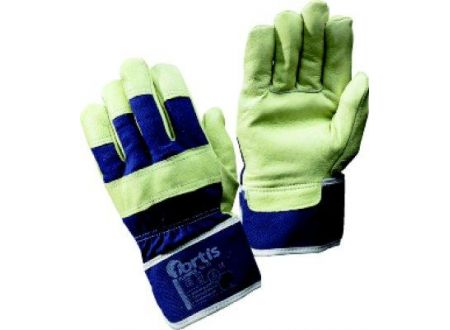 Handschuh Plumber, Schweinsleder, Gr.10, FORTIS Lieferumfang: 12 Paar