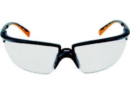 3M Schutzbrille Solus schwarz-orange Scheibe klar bei handwerker-versand.de günstig kaufen