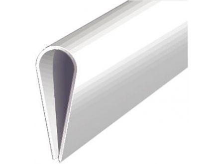Gah Klemmprofil Kunststoff 1000/15mm weiß bei handwerker-versand.de günstig kaufen