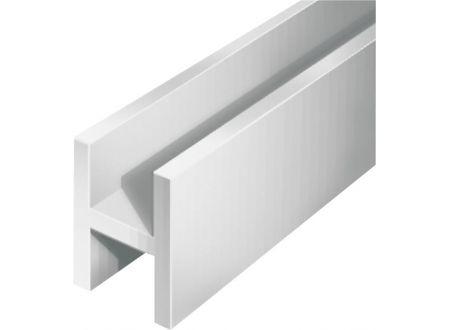 Gah H-Profil silberfarbig Aluminium bei handwerker-versand.de günstig kaufen