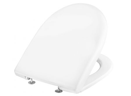 Keramag WC Sitz KE RENOVA Nr.1 weiß edelstahl