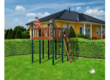 Tabaluga Spielturm 816 D bei handwerker-versand.de günstig kaufen