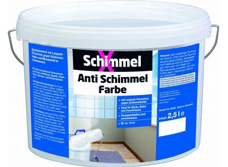 Baufan Schimmel X Anti Schimmel Farbe 2,5L