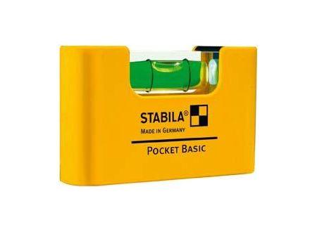 Mini-Wasserwaage STABILA Pocket