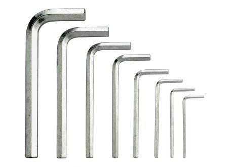 StiftschlüsselSatz 6kt. 2-10mm 8-teilig bei handwerker-versand.de günstig kaufen