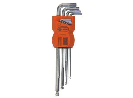 Stiftschlüsselsatz lang 1,5-10mm 9-teilig bei handwerker-versand.de günstig kaufen