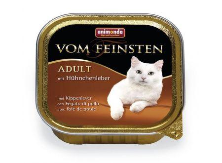 Animonda Cat vom Feinsten Adult mit Hühnchenleber 100 g Schale