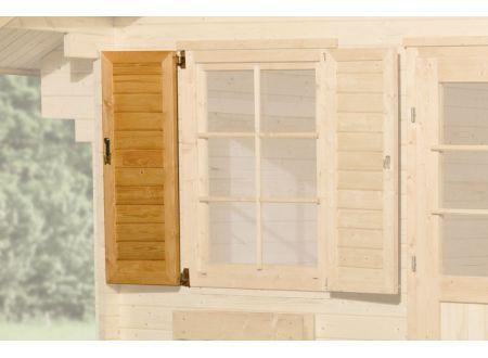 Weka Fensterladen 1-seitig für Fenster 149 und 177