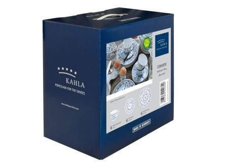 Kahla Blau Saks Kaffeeset 18 tlg. bei handwerker-versand.de günstig kaufen