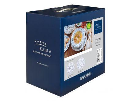 Kahla/Thüringer Porzellan Kahla Blau Saks Tafelset 12 tlg.