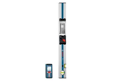 Entfernungsmesser Bosch GLM 80+R 60 mit Messschiene und Schutzta