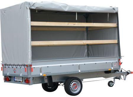 Hochplane und Hochspriegel im Set für PKW Anhänger BASIC ST bei handwerker-versand.de günstig kaufen