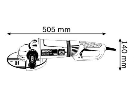 Winkelschleifer Bosch GWS 24-230 JVX