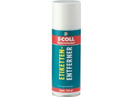 Etikettenentferner 200ml E-COLL Lieferumfang: 12 Stück