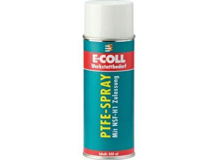 PTFE-Spray mit NSF-H1 Freigabe 400ml E-COLL Lieferumfang: 12 Stück