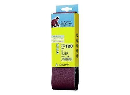 Klingspor Kurzband SB 3 Stück 105x 620 mm Korn 80 bei handwerker-versand.de günstig kaufen
