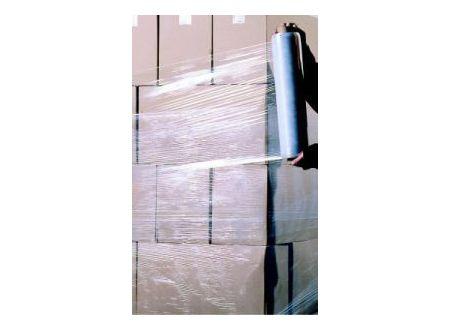 Stretchfolie transparent 20 my 500 mm x 300 m Lieferumfang: 6 Rollen