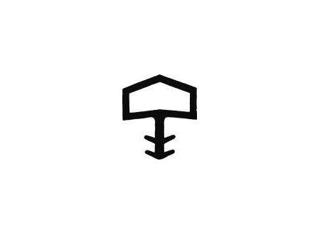 Dipro Zimmertürdichtung SD 016 weiß bei handwerker-versand.de günstig kaufen
