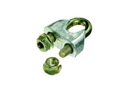 EDE Drahtseilklemmen verzinkt DIN 1142 4,7mm (3/16\