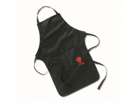 Weber Grillschürze Schwarz mit roten Kugel-Grill bei handwerker-versand.de günstig kaufen