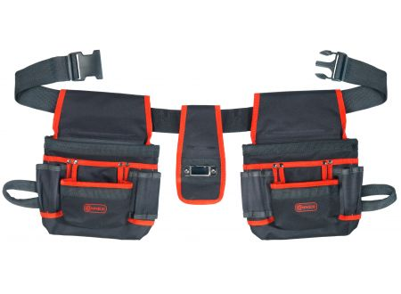 Werkzeuggü�rtel mit 2 Tasche 8 Fächer bei handwerker-versand.de günstig kaufen