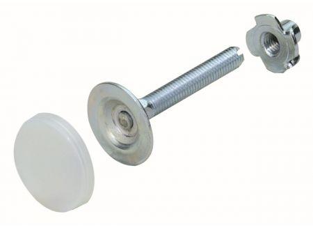 Hettich International Verstellschraube Korrekt mit Einschlagmutter bei handwerker-versand.de günstig kaufen
