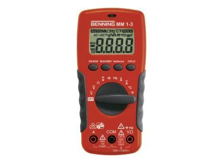 Digital-Multimeter Benning MM 1-3