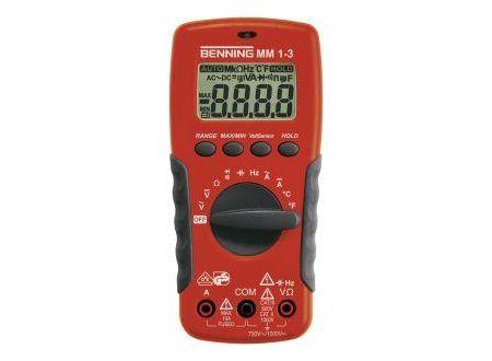 Digital-Multimeter Benning MM 1-3