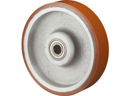 EDE Rad 125mm C10.128 Polyure Guss,Radk.Guss,KLTragkraft 550 Kg