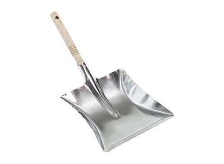 Nölle Metall-Kehrschaufel mit Holzgriff feuerverzinkt bei handwerker-versand.de günstig kaufen