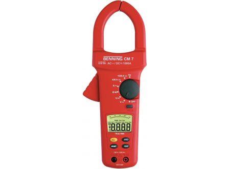 EDE Digital-Stromzangen- Multimeter CM 7 BENNING