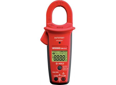 EDE Digital-Stromzangen- Multimeter CM 5-1 BENNING