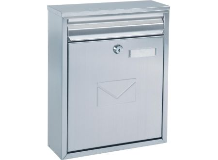 rottner security briefkasten como edelstahl kaufen. Black Bedroom Furniture Sets. Home Design Ideas
