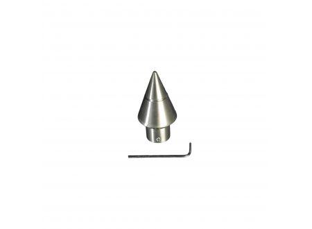 Liedeco Endstück für Gardinenstangen Kegel Inox, ø 16 mm bei handwerker-versand.de günstig kaufen