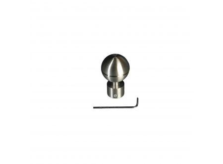 Liedeco Endstück für Gardinenstangen Kugel Inox, ø 16 mm bei handwerker-versand.de günstig kaufen