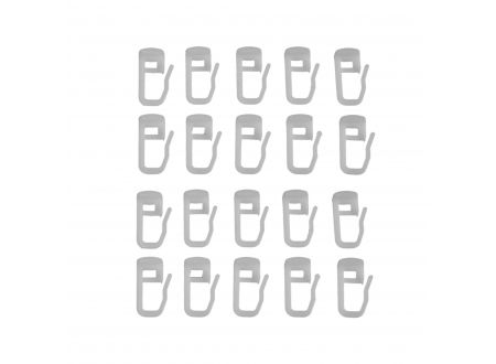 Liedeco Gleiter Alpha mit Faltenlegehaken Gardinenschiene bei handwerker-versand.de günstig kaufen