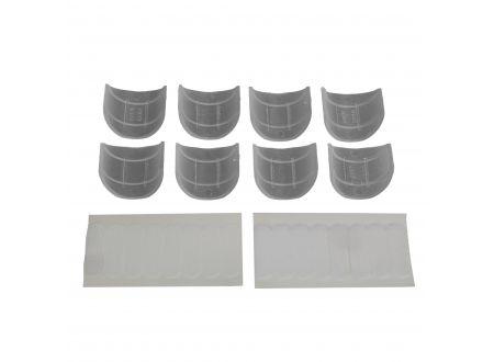 Liedeco Schlaufengleiter mit Klettband für Gardinenstangen ø 28 mm bei handwerker-versand.de günstig kaufen