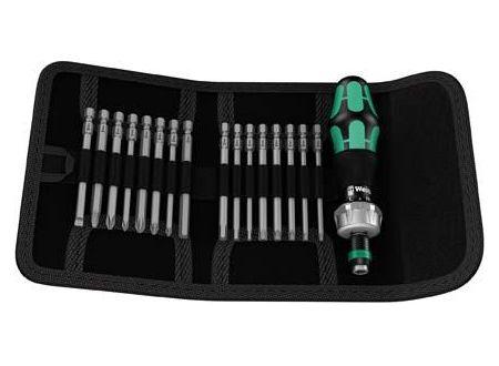 Wera Bit-Sortiment Kraftform Kompakt 60 R, 17-teilig bei handwerker-versand.de günstig kaufen