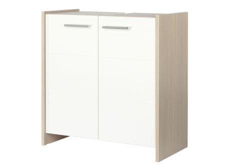 FACKELMANN KAYO Beckenunterschrank Pinie/Weiß, 2 Türen bei handwerker-versand.de günstig kaufen
